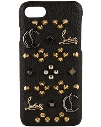 Christian Louboutin - Studded Phone Case - Lyst