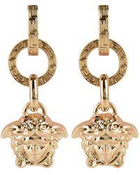 Versace - Medusa Drop Earrings - Lyst
