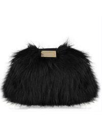 Emporio Armani - Borsa Faux Fur Bag - Lyst