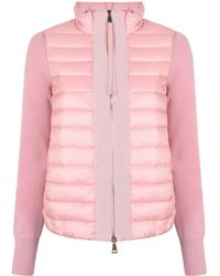 Moncler - Magia Knit Sleeve Jacket - Lyst