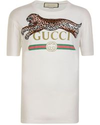 dc9e52ed1 Gucci Fake Logo Rugby Shirt in Red for Men - Lyst