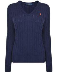 Polo Ralph Lauren - Cable Cotton Knit Jumper - Lyst