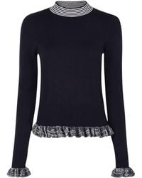 French Connection - Alexa Knitted Jumper - Lyst