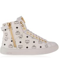 MCM - Visetos High Top Trainers - Lyst