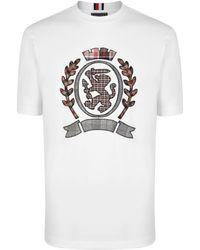 Tommy Hilfiger - Crest T Shirt - Lyst