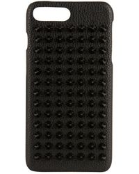 Christian Louboutin - Loubiphone Leather Iphone 7 And 8 Case - Lyst