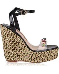 Sophia Webster - Lucita Gem Wedges - Lyst