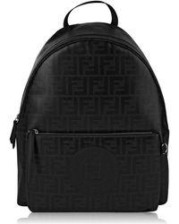 Fendi - Glossy Ff Backpack - Lyst