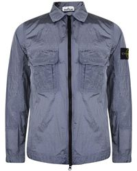 Stone Island - Nylon Metallic Over Shirt - Lyst