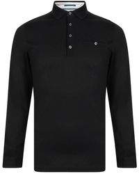 Ted Baker - Fruitpa Long Sleeve Polo Shirt - Lyst