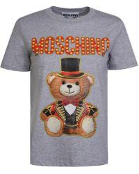 Moschino - Circus Teddy T Shirt - Lyst