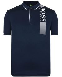 BOSS Green - Logo Polo Shirt - Lyst