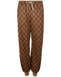 Gucci - Technical Knit Logo Jogging Bottoms - Lyst