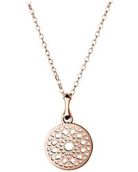 Links of London - Timeless Rose Gold Small Necklace - Lyst
