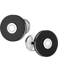 Montblanc - Pix Round Cufflinks - Lyst