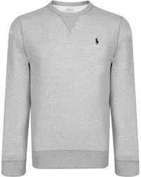 Polo Ralph Lauren - Logo Crew Neck Sweatshirt - Lyst