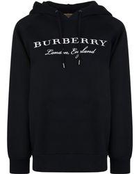 Burberry - Krayford Hooded Sweatshirt - Lyst