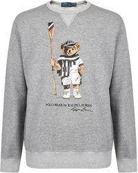 Polo Ralph Lauren - Teddy Crew Sweatshirt - Lyst