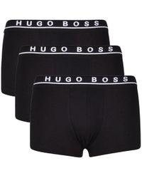 BOSS by Hugo Boss - 3 Pack Trunks - Lyst