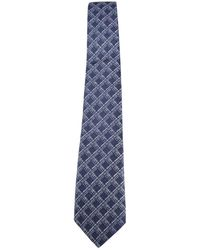 Canali - Checked Tie - Lyst