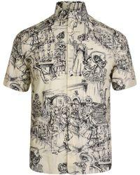 Saint Laurent - Mexican Party Shirt - Lyst