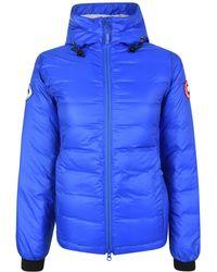 Canada Goose - Pbi Camp Hooded Jacket - Lyst