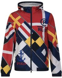 Polo Ralph Lauren - Flags Print Jacket - Lyst