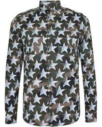Valentino - Camustars Print Shirt - Lyst