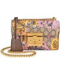 Gucci - Padlock Bengal Shoulder Bag - Lyst