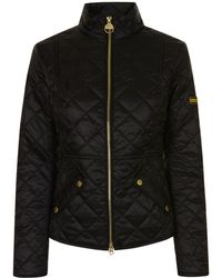 Barbour - Delware Quilted Jacket - Lyst