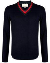 a9ec9a1ad5335e Men's Gucci Sweaters and knitwear Online Sale - Lyst