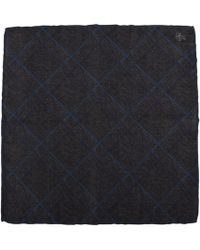 Canali - Checked Pocket Square - Lyst