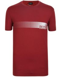 BOSS by Hugo Boss - Logo T Shirt - Lyst