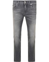 Dolce & Gabbana - Gold Washed Slim Jeans - Lyst