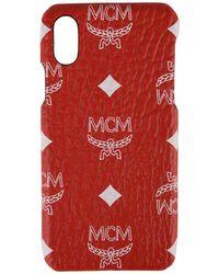 MCM - Visetos Iphone X Case - Lyst