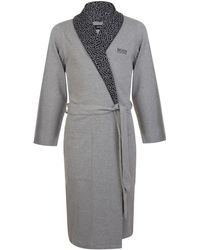 BOSS by Hugo Boss - Art Print Robe - Lyst