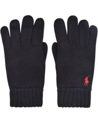 Polo Ralph Lauren - Ribbed Gloves - Lyst
