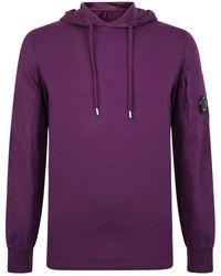 C P Company - Micro Lens Hooded Sweatshirt - Lyst