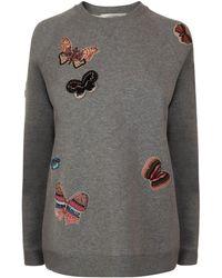 Valentino - Butterfly Sweatshirt - Lyst