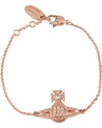 Vivienne Westwood - Minnie Orb Bracelet - Lyst