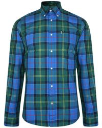Barbour - Checked Tailored Fit Shirt - Lyst