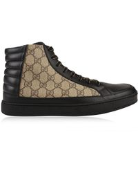 bf6ec51bf5462 Lyst - Gucci  common  High Top Sneaker in Black for Men