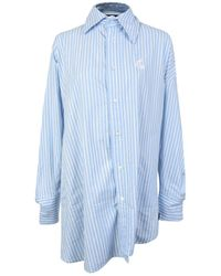Vivienne Westwood Anglomania - Chaos Asymmetric Striped Shirt - Lyst