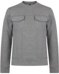 Neil Barrett - Pocket Sweatshirt - Lyst