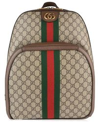 6c48079a35b5 Gucci Web Animalier Backpack With Bee for Men - Lyst