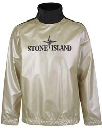 Stone Island - Pullover Jacket 'iridescent Collection' - Lyst