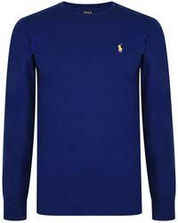 Polo Ralph Lauren - Long Sleeve Crew Neck T Shirt - Lyst