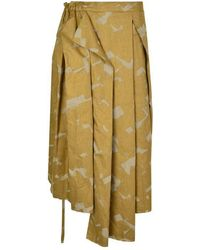 Vivienne Westwood Rhea Cross Skirt - Metallic