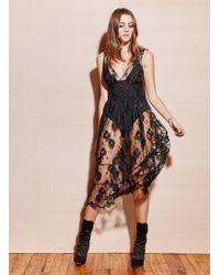 Fleur du Mal - Poppy Lace Dress - Lyst