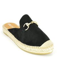 275 Central - Suede Espadrille Mule - Lyst